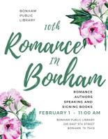 Get Ready for Romance in Bonham