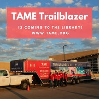 TAME Trailblazer to visit WPL
